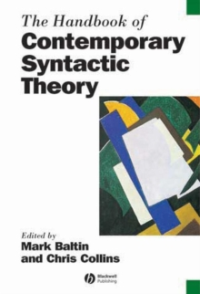 The Handbook of Contemporary Syntactic Theory, Paperback Book