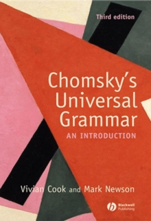Chomsky's Universal Grammar : An Introduction, Paperback Book