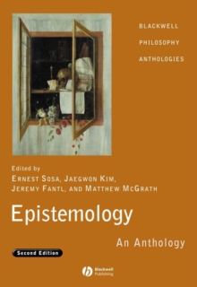 Epistemology : An Anthology, Paperback Book