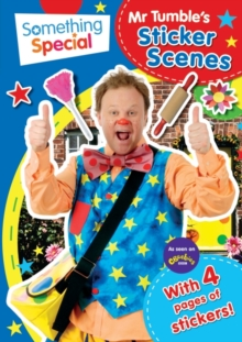 Something Special: Mr Tumble's Sticker Scene, Paperback Book