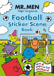 Mr. Men Football Sticker Scene, Paperback Book