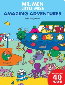 Mr. Men: Amazing Adventures: Flap Book, Board book Book
