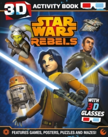 Star Wars Rebels 3D Activity Book, Paperback Book