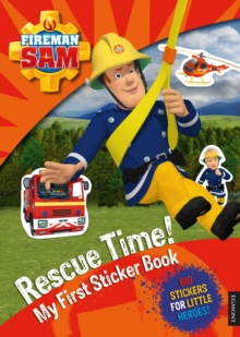 Fireman Sam: Rescue Time! My First Sticker Book, Paperback Book