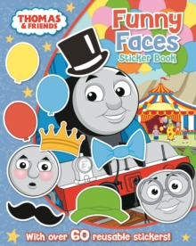 Thomas & Friends: Funny Faces Sticker Book, Paperback Book