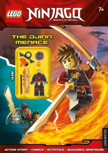 LEGO (R) Ninjago: The Djinn Menace (Activity Book with Minifigure), Paperback Book