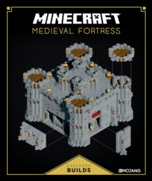 Minecraft: Exploded Builds: Medieval Fortress : An Official Minecraft Book from Mojang, Hardback Book