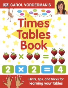 Carol Vorderman's Times Tables Book, Hardback Book