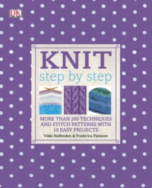 Knit Step by Step, Hardback Book