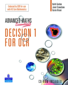 A Level Maths Essentials Decision 1 for OCR Book, Paperback Book