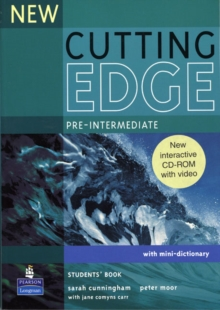 New Cutting Edge Pre-Intermediate Students Book and CD-ROM Pack, Mixed media product Book