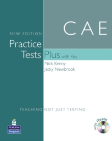 Practice Tests Plus CAE New Edition Students Book with Key/CD Rom Pack