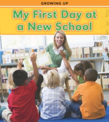 My First Day at a New School, Hardback Book