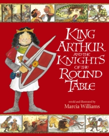 King Arthur and the Knights of the Round Table, Paperback Book