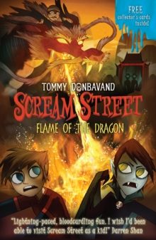 Scream Street 13: Flame of the Dragon, Paperback Book