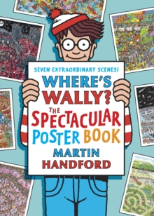 Where's Wally? The Spectacular Poster Book, Paperback Book