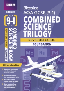 BBC Bitesize AQA GCSE (9-1) Combined Science Trilogy Foundation Revision Guide, Mixed media product Book