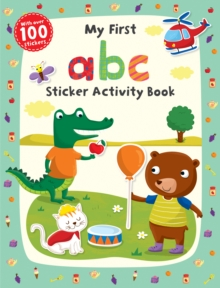 My First ABC Sticker Activity Book, Paperback Book