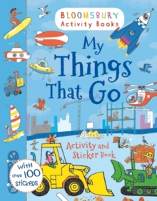 My Things That Go Activity and Sticker Book, Paperback Book