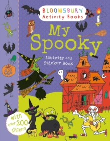My Spooky Activity and Sticker Book, Paperback Book