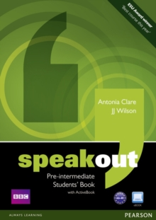 Speakout Pre-Intermediate Students book and DVD/Active Book Multi Rom Pack, Mixed media product Book