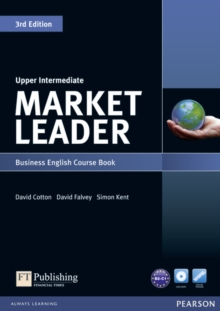 Market Leader 3rd Edition Upper Intermediate Coursebook & DVD-Rom Pack, Mixed media product Book