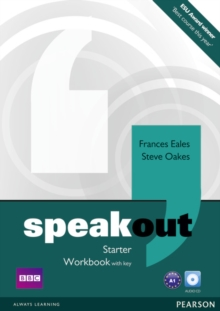 Speakout Starter Workbook with Key and Audio CD Pack, Mixed media product Book