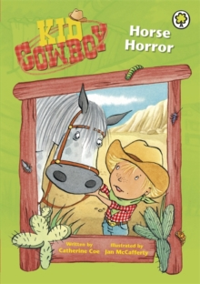 Kid Cowboy: Horse Horror, Paperback Book