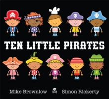 Ten Little Pirates, Paperback Book