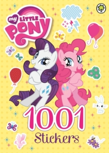 My Little Pony: 1001 Stickers, Paperback Book