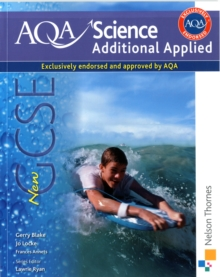 AQA Science GCSE Additional Applied Science : Student Book, Paperback Book