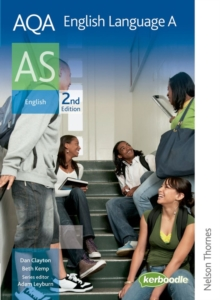 AQA English Language A AS, Paperback Book