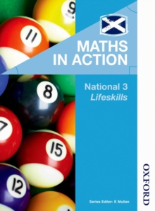 Maths in Action National 3 Lifeskills, Paperback Book