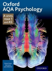 Oxford AQA Psychology A Level: Year 1 and AS, Paperback Book