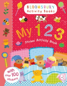 My 123 Sticker Activity Book, Paperback Book