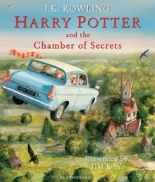 Harry Potter and the Chamber of Secrets : Illustrated Edition, Hardback Book