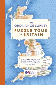 The Ordnance Survey Puzzle Tour of Britain : Take a Puzzle Journey Around Britain From Your Own Home, Paperback / softback Book