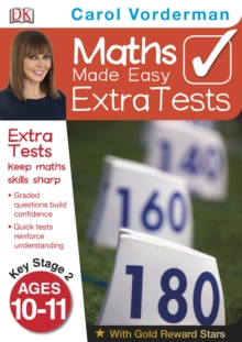 Maths Made Easy Extra Tests Age 10-11, Paperback Book