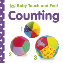 Baby Touch and Feel Numbers 1,2,3, Board book Book