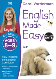 English Made Easy Ages 8-9 Key Stage 2, Paperback Book