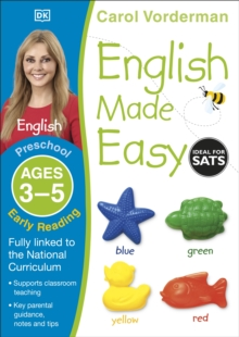 English Made Easy Preschool Early Reading Ages 3-5, Paperback Book