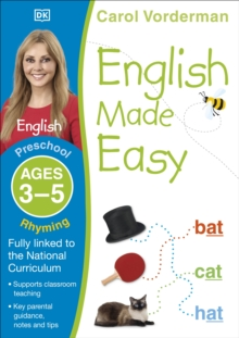 English Made Easy Rhyming Preschool Ages 3-5, Paperback Book