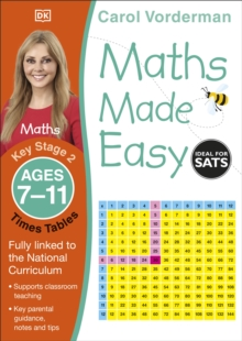 Maths Made Easy Times Tables Ages 7-11 Key Stage 2, Paperback Book