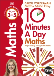 10 Minutes a Day Maths Ages 3-5, Paperback Book