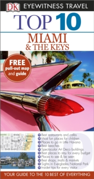 Top 10 Miami and the Keys, Paperback Book