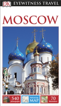 DK Eyewitness Travel Guide Moscow, Paperback Book