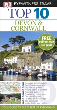 Top 10 Devon and Cornwall, Paperback Book