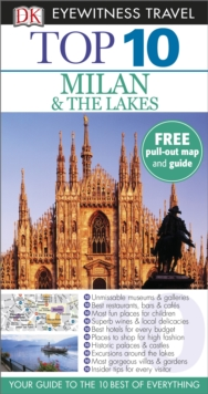 Top 10 Milan and the Lakes, Paperback Book