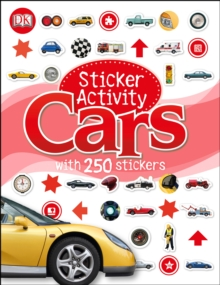 Sticker Activity Cars, Paperback Book