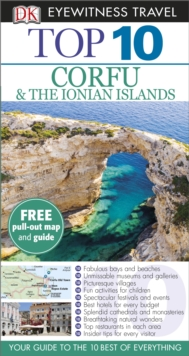 Top 10 Corfu and the Ionian Islands, Paperback Book